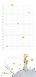 Der Kleine Prinz Familienplaner - Kalender 2017