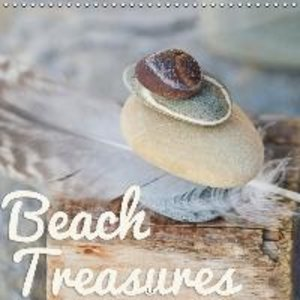Beach treasures 2015 (Wall Calendar 2015 300 × 300 mm Square)