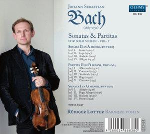 Sonaten und Partiten Vol.1