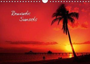 Romantic Sunsets (UK - Version) (Wall Calendar 2015 DIN A4 Lands