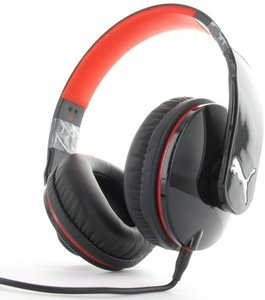 Puma Vortice Headset Over-Ear + Mic, schwarz