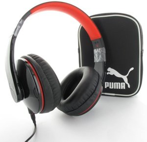 Puma Vortice Headset Over-Ear + Mic, schwarz
