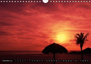 Romantic Sunsets (UK - Version) (Wall Calendar 2015 DIN A4 Lands