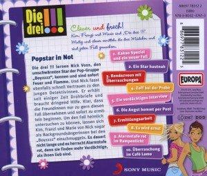 Die drei !!! 12: Popstar in Not (Ausrufezeichen)