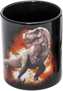 Jurassic World T-Rex Keramiktasse (320 ml) in Geschenkp