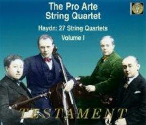27 Streichquartette Vol.1