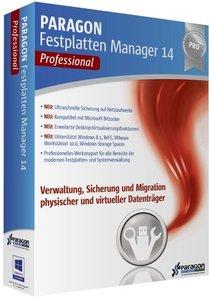 Paragon Festplatten Manager 14 - Professional