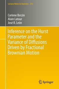 Inference on the Hurst Parameter and the Variance of Diffusions