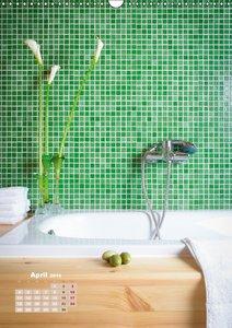 Zeit für dich im Bad (Wandkalender 2016 DIN A3 hoch)