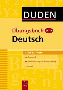 Steinhauer, A: Duden Übungsbuch extra - Deutsch 5.-10. Klass