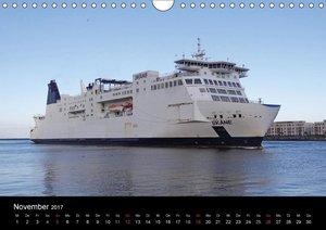 Rostock maritim - Fährschiffe (Wandkalender 2017 DIN A4 quer)