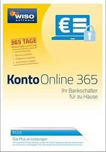 WISO Konto Online Plus 365 2017. Für Windows Vista, Windows 7, W