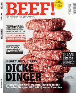BEEF! - Für Männer mit Geschmack. Ausgabe 2/2012
