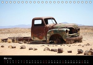 Faszination Namibia - Oldtimer mal anders (Tischkalender 2016 DI