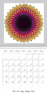 My Mandalas (Wall Calendar 2015 300 × 300 mm Square)