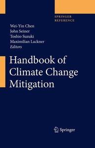 Handbook of Climate Change Mitigation. 2 Bände