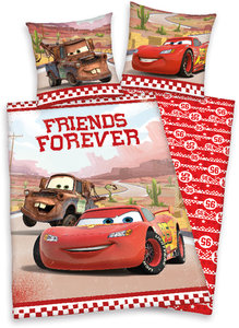 Cars Bettwäsche Forever Friends