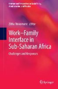 Work-Family Interface in Sub-Saharan Africa