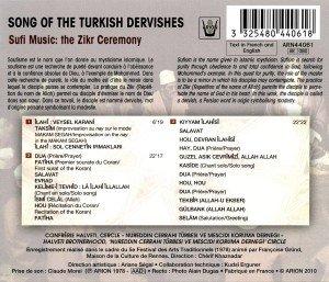 Gesänge der türkischen Derwische