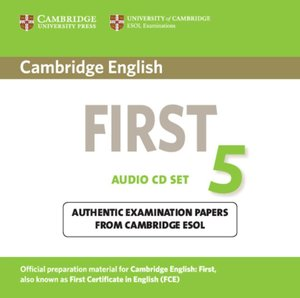 Cambridge First Certificate in English 5 / 2 Audio CDs