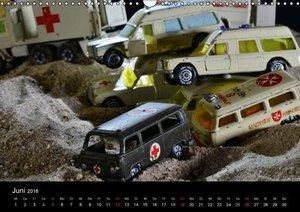 Modellautowracks (Wandkalender 2016 DIN A3 quer)