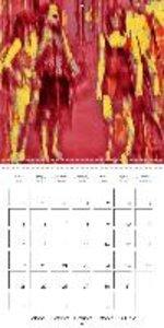 people - digital abstract art (Wall Calendar 2015 300 × 300 mm S