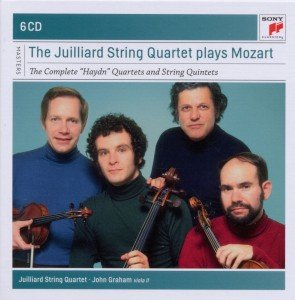 The Juilliard Quartet plays Mozart-The Complete