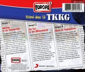 TKKG Krimi-Box 13