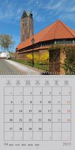 A German Hanseatic city of Wismar (Wall Calendar 2015 300 × 300