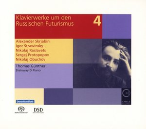 Klavierwerke um den russischen Futurismus vol.4