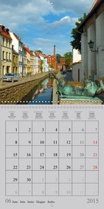 A German Hanseatic city of Wismar (Wall Calendar 2015 300 × 300