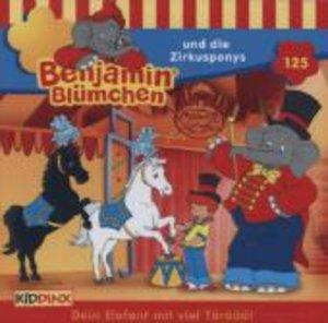 Benjamin Blümchen 125 und die Zirkusponys