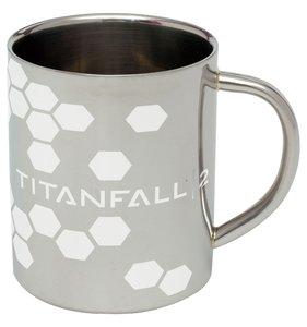 Titanfall 2 - Edelstahl-Tasse - Logo