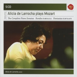 Alicia de Larrocha Plays Mozart Piano Sonatas/+