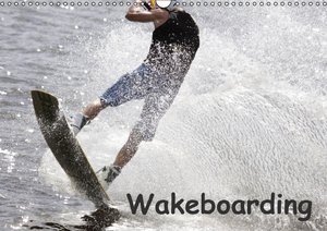 Wakeboarding / CH-Version (Wandkalender 2016 DIN A3 quer)