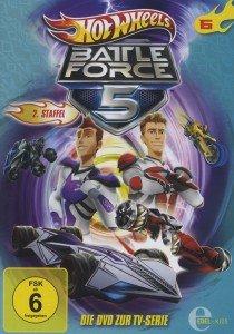 Hot Wheels/Battle Force 5: (6)DVD z.TV-Serie
