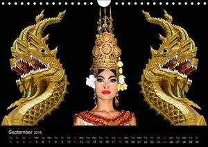 Thailand & Cambodia / UK Version (Wall Calendar 2016 DIN A4 Land