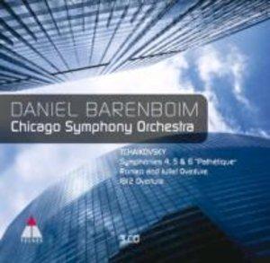 Sinfonien 4,5 & 6/Pathetique/Romeo&Juliet Overture