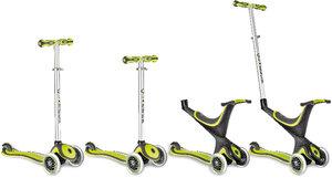 My free kids 5-in-1, 3-Wheels Scooter bi-inject grün-schwarz