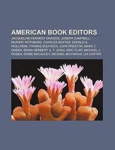 American book editors