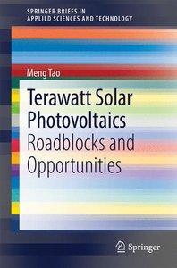 Terawatt Solar Photovoltaics