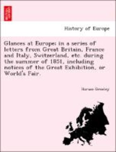 Glances at Europe; in a series of letters from Great Britain, Fr