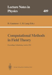 Computational Methods in Field Theory