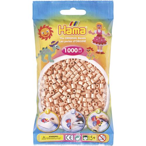 Hama 207-26 - Perlen hautfarbe, 1000 Stück - zum Schließen ins Bild klicken