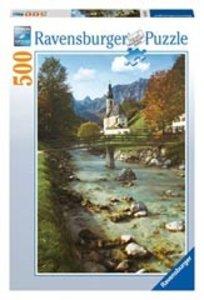 Ravensburger 14175 - Oberbayern, Pfarrkiche Ramsau, 500 Teile Pu