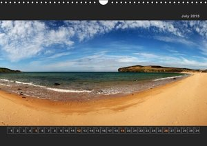 Panoramic Scotland Part II / UK-Version (Wall Calendar 2015 DIN