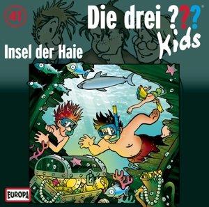 Die drei ??? Kids 41: Insel der Haie (Fragezeichen)