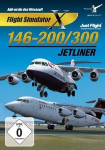 Flight Simulator X - 146-200/300 Jetliner