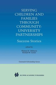 Serving Children and Families Through Community-University Partn