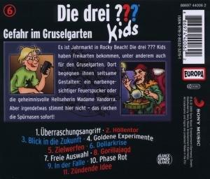 Die drei ??? Kids 06. Gefahr im Gruselgarten (drei Fragezeichen)